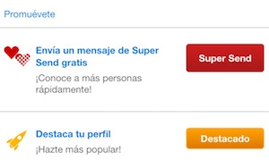 zoosk supersend